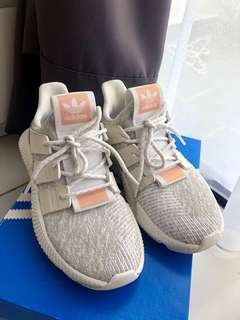 Adidas prophere white x pink