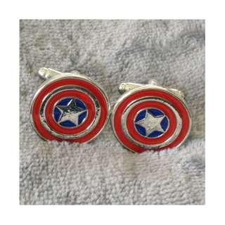 Captain America Cuff Link