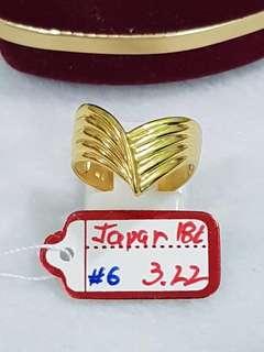 18k Japan Gold