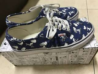 Vans x Peanuts 聯名款snoopy 帆布鞋