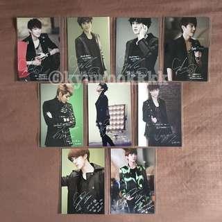 EXO Genie AR Postcards