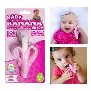 Banana Teether Toothbrush