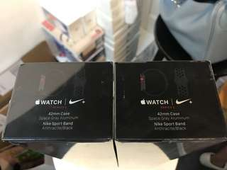 Apple Watch Series 3 Nike+ LTE (GPS + Cellular) 42mm