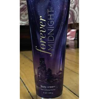 Bath & Body Works Forever Midnight Body Cream