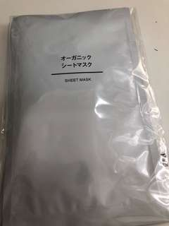 Muji Sheet Mask 5pcs