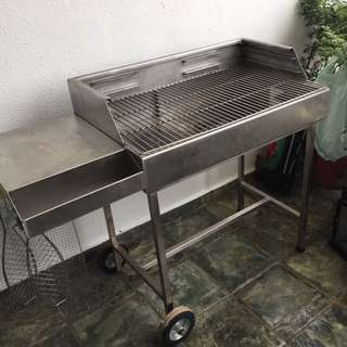 High quality stainless steel custom made BBQ