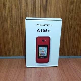 🚚 INHON G106+ 雙螢幕摺疊機-金色