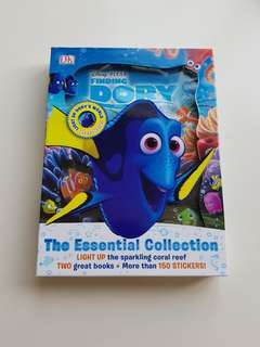 Disney PIXAR - Finding Dory book with light & stickers