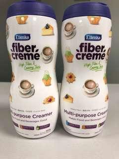 2 bottles Fiber Creme