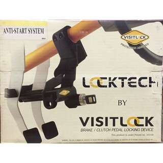 Locktech visitlock Pedal Lock civic fd