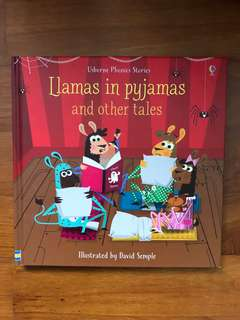 "Usborne phonics series ""Limas in pyjamas and other stories"""