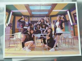 Twice Signal Official Postcard