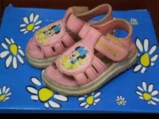 二手童鞋 米妮 涼鞋~14cm