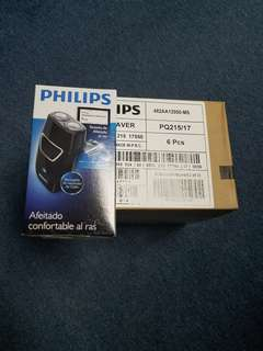 Philips pq215 rechargeable 3 head shaver.