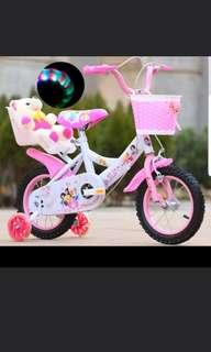 Disney Princess Bicycle with Led light wheels