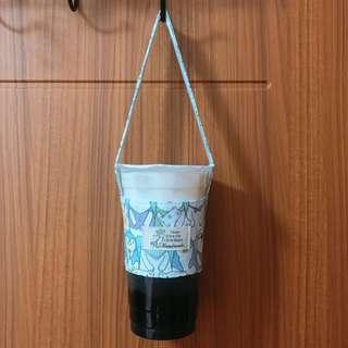 全新/ 手作 飲料環保提袋♻️ 企鵝北極熊滿版/藍白條紋 #一百元好物