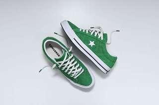 "Converse One Star OX ""Green/White/Black"""