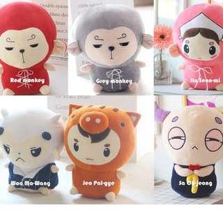 READY STOCK Hwayugi stuffed toy Korean Odyssey plush toy 花游记 Kwave