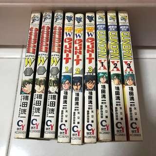 Gundam X, Gundam W G Unit Comics