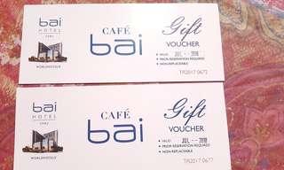 Cafe bai Buffet Vouchers