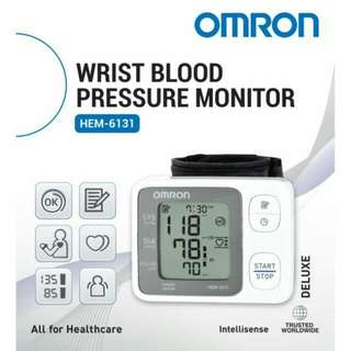 NEW OMRON Wrist Blood Pressure Monitor HEM-6131