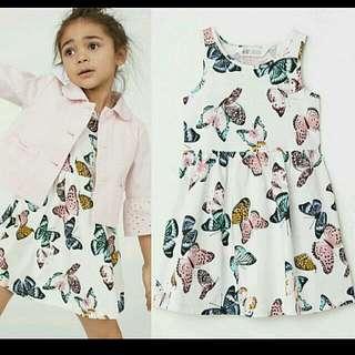 authentic H&M girls dress overruns