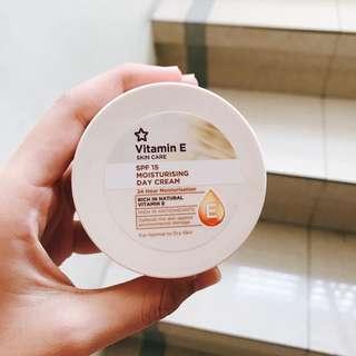 Vitamin E Skin Care (Day) Moisturizer Cream — SPF 15