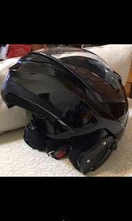 🚚 可樂帽 瑞獅原價4000‼️‼️ ZEUS 3100 素色 亮黑 安全帽 全罩式 汽水帽 可樂帽 可掀式 內置遮陽片