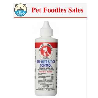 [Pet Foodies] R&R EAR MITE & TICK 4 OZ
