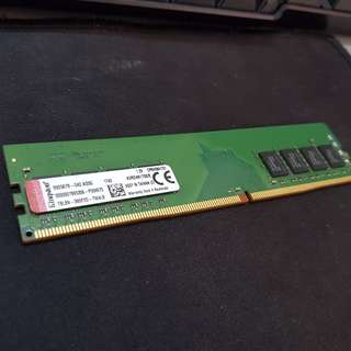 Kingston DDR4 8GB Desktop RAM (KVR24N17S8/8)