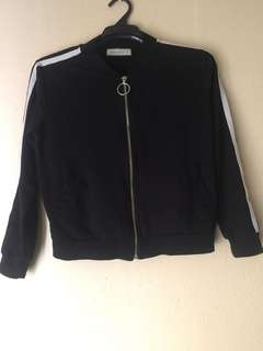 Black & White Stripes Jacket