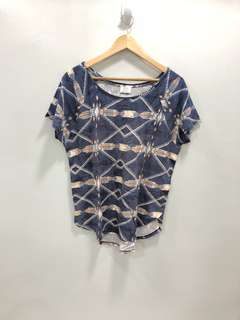 Zara Aztec Shirt - Preloved, Good Condition