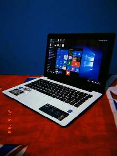 Laptop Notebook ASUS X453M Putih