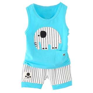 RM25 CHILDREN AND BABY BOY CLOTHING SET