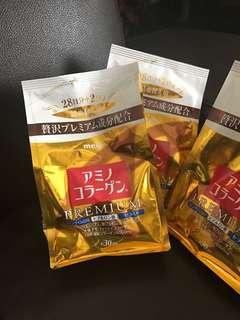 🚚 日本購回 明治膠原蛋白粉 白金尊爵加強版 30天 生日禮物