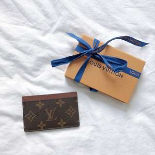 LV Classic Monogram Card Holder