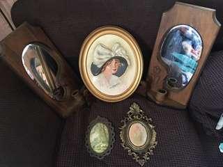 Lot Sale Mirror, Display Etc