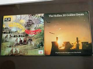 HERMAN'S HERMITS ● HOLLIES .  herman hermits / 20 great sounds that grew out of the north ( buy 1 get 1 free )  vinyl record