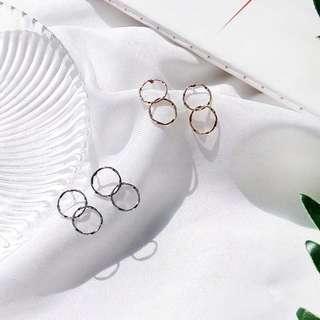 [PO] Aries Round loop Earring