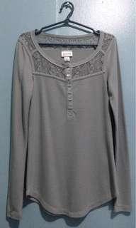 Mossimo - Gray long sleeves