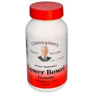 Christopher's Original Formulas, Lower Bowel Formula, 450 mg, 100 Veggie Caps
