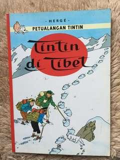 Petualangan Tintin - Tintin di Tibet by Hergé