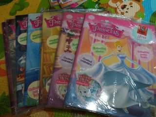 Brand new in wrapper Disney princess bulk purchase @ $14 with free giveaway of old issues