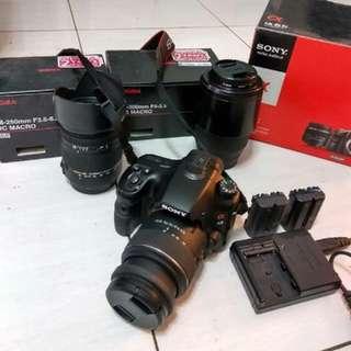 Jual 1 set Kamera Dslr SLK A65v