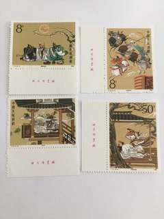Prc china T131 Romance of the 3 kingdom imprint set mnh