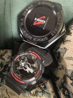 G-SHOCK / CASIO GA-110HR-1A Case / bezel material: Resin Resin Band Magnetic Resistant Shock Resistant Mineral Glass 200-meter water resistance