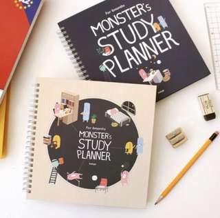 Monster 6 Months Study Planner