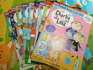 Brand new charlie and lola bulk purchase $5
