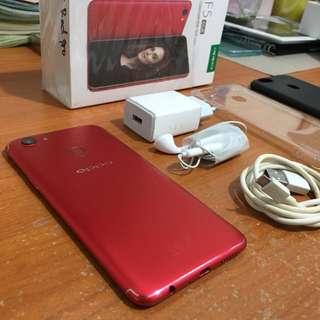 Oppo F5 pro red edition garansi jan 2019 bisa tt