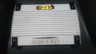High End Zed Audio 4 channel amplifier.